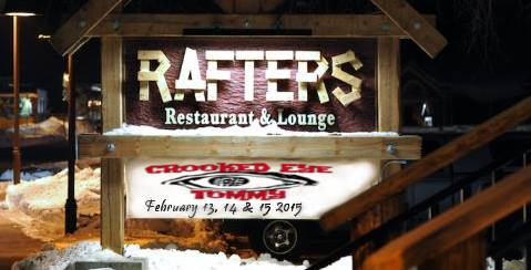 Valentines Day Wknd w/ Crooked Eye Tommy @ The Rafters – Feb 13-15