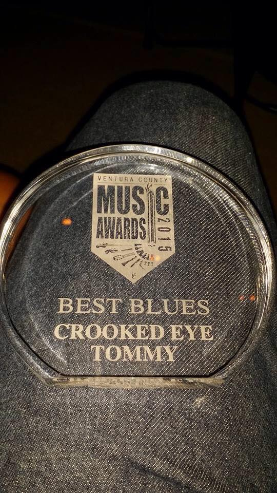 Crooked Eye Tommy wins Ventura County Music Award!