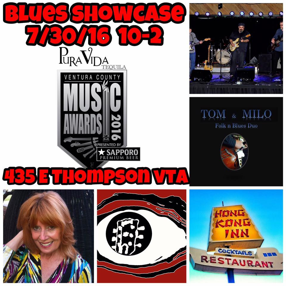 Crooked Eye Tommy plays VCMA Blues Showcase - Jul 30th