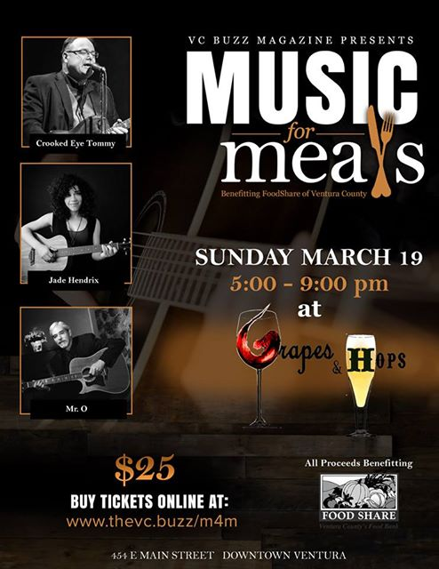 Sunday, March 19 at 5 PM - 9 PM