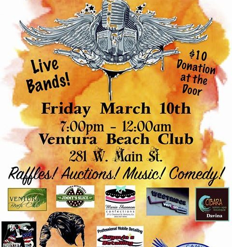 Crooked Eye Tommy plays Rockabilly & Blues Extravaganza! benefit, March 10th