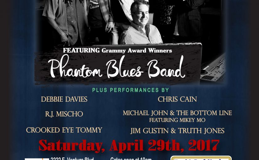 12th Annual Ventura County Blues Festival – Apr 29th 2017