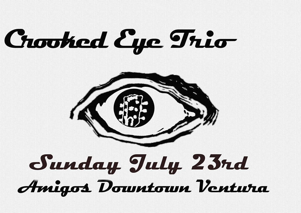 Crooked Eye Trio at Amigo's - 7/23