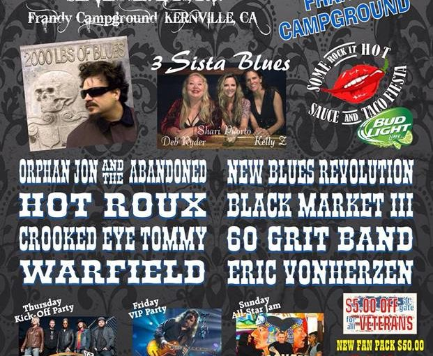 Crooked Eye Tommy plays Kern River Rock n Blues Fest – Sept 22/23