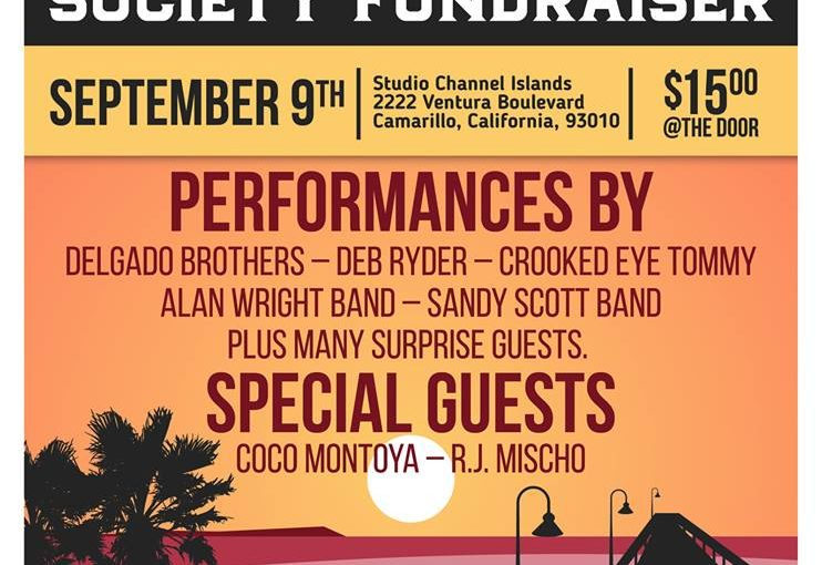 Crooked Eye Tommy @ VC Blues Society Fundraiser – Sept 9th