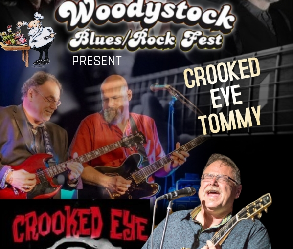 Crooked Eye Tommy plays Woodystock – Oct 7th