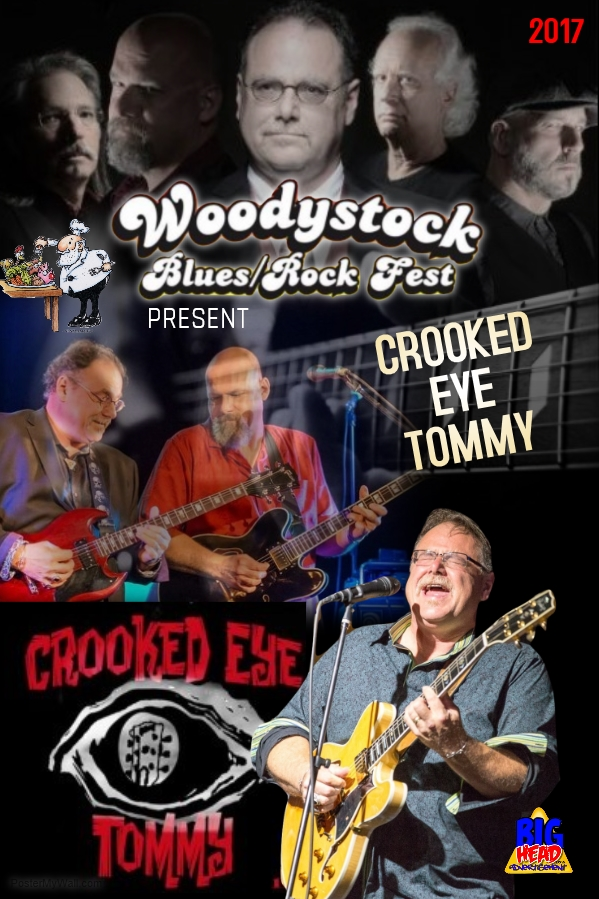 Crooked Eye Tommy plays Woodystock - Oct 7th