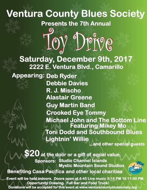 Crooked Eye Tommy plays VCBS Toy Drive - Dec 9th