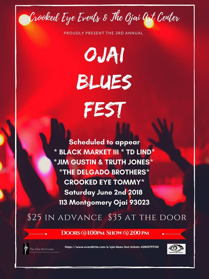 The 3rd Annual Ojai Blues Fest