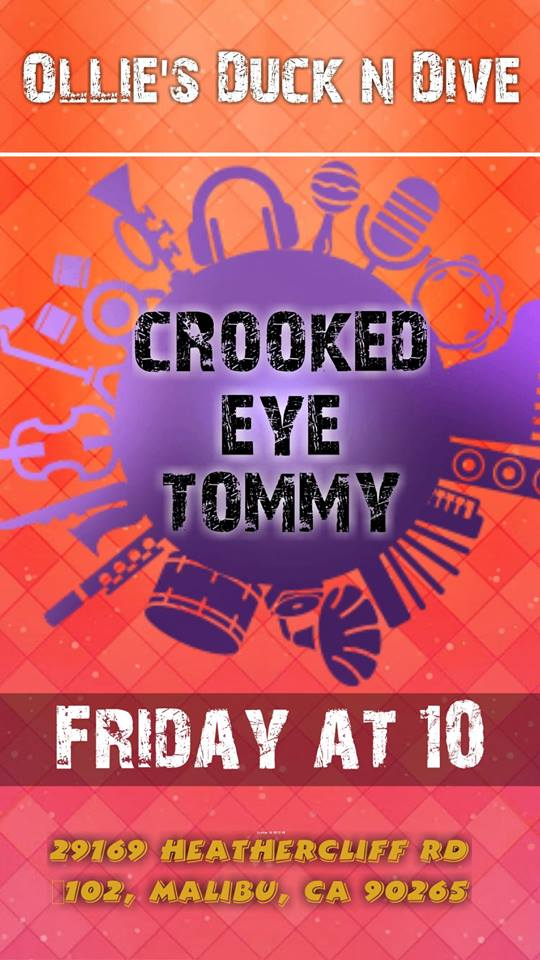 Crooked Eye Tommy at Ollie's Duck n Dive - 6/8