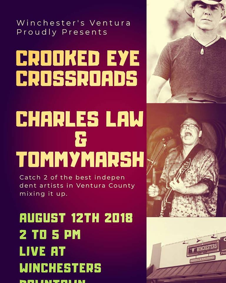 Crooked Eye Crossroads w/ guest Charles Law, 8/12