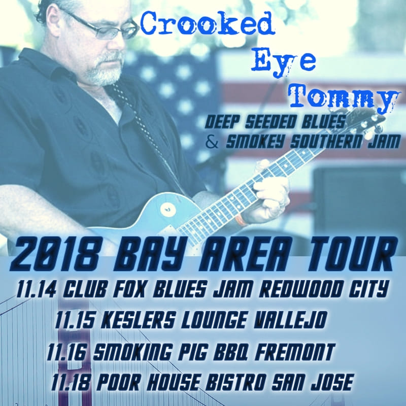 Crooked Eye Tommy Live At POOR HOUSE BISTRO - Nov 18th