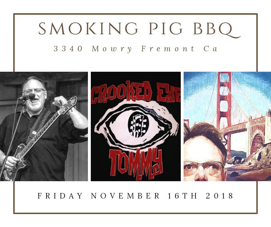 Crooked Eye Tommy at Smoking Pig BBQ