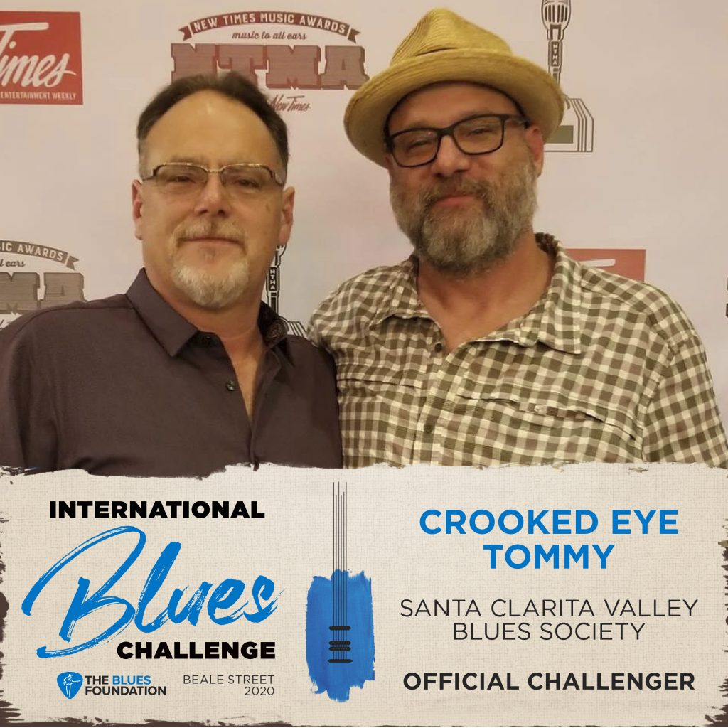 Tommy and Paddy Marsh play International Blues Challenge